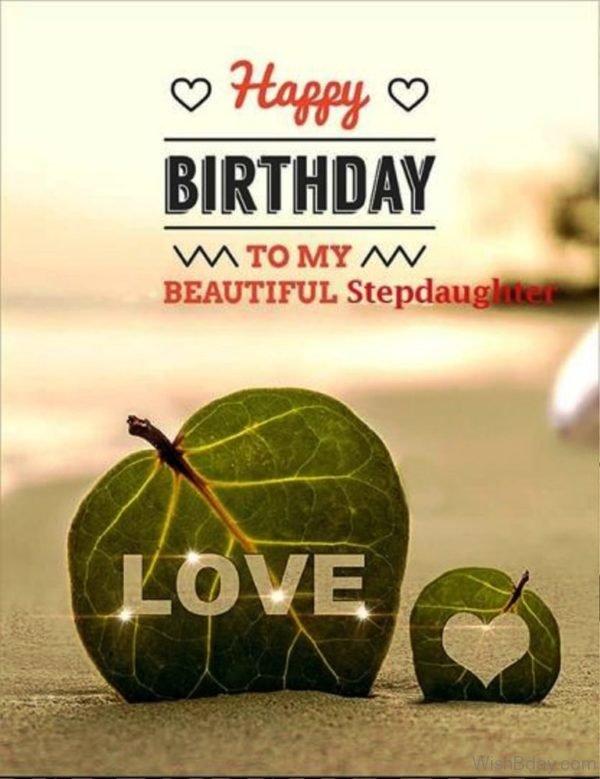 Happy Birthday To My Beautiful Stepdaughter