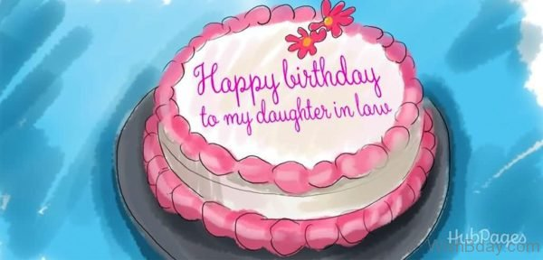 Happy Birthday To My Daughter in Law 1