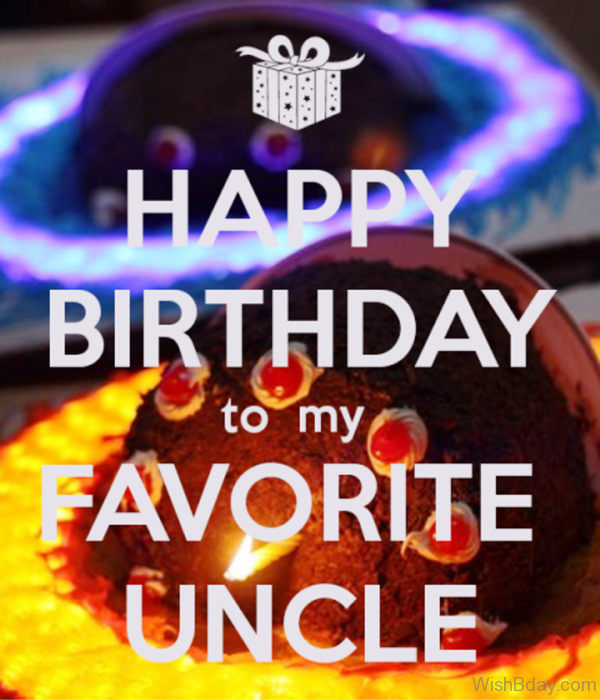 Happy Birthday To My Favourite Uncle