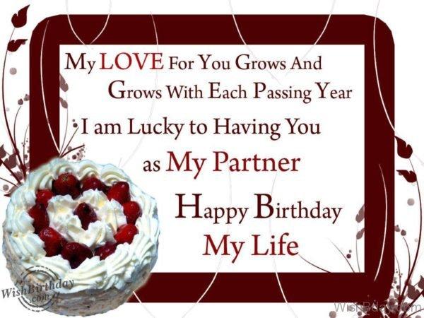 Happy Birthday To My Life