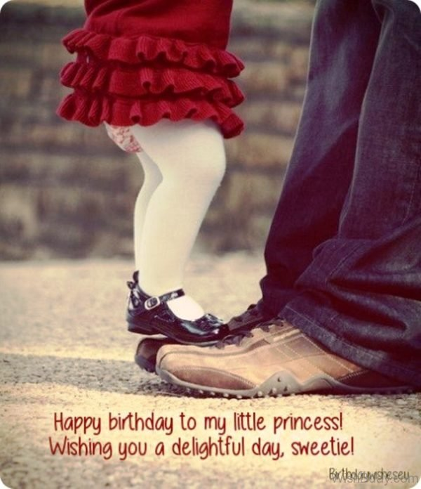 Happy Birthday To My Little Princess