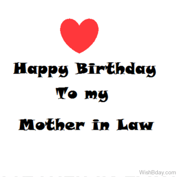 Happy Birthday To My Mother In Law Dear