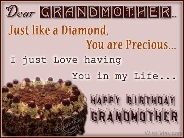 Happy Birthday To My Precious Grandmother