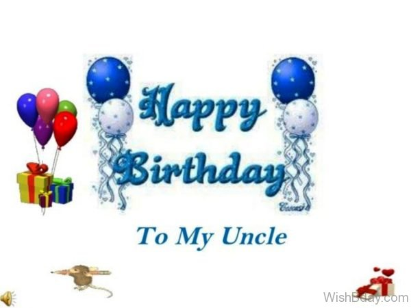 Happy Birthday To My Uncle
