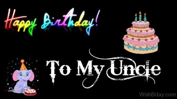 Happy Birthday To My Uncle Image
