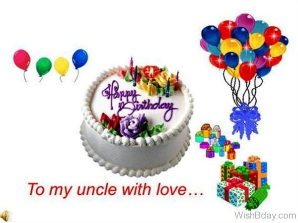 Happy Birthday To My Uncle With Love