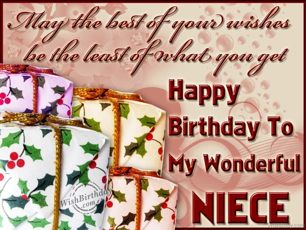 46 Birthday Wishes For Niece Wishing Happy Birthday To My