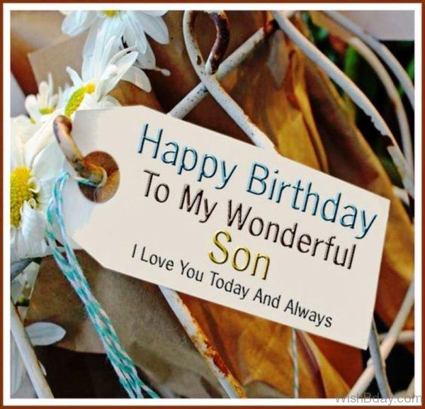 Happy Birthday To My Wonderful Son 1