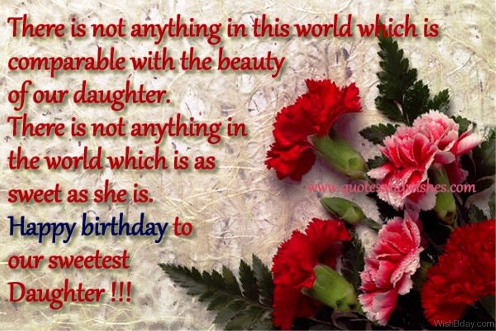 Happy Birthday Quotes For Daughter ~ 69 birthday wishes for daughter