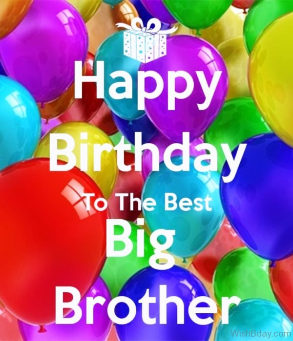 Happy Birthday To The Est Big Brother