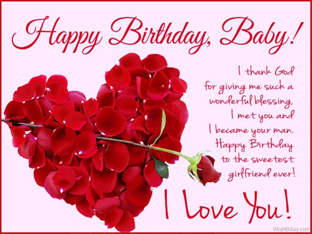 happy birthday wish for girlfriend