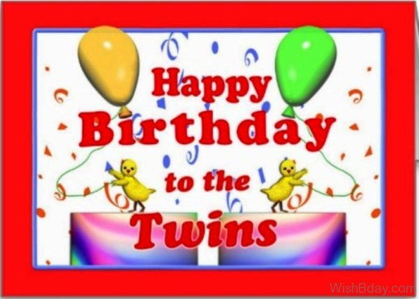Happy Birthday To The Twins