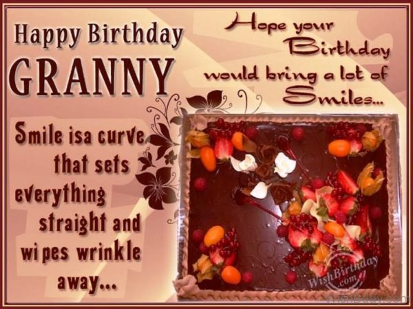 Happy Birthday To World's Sweetest Grandmother
