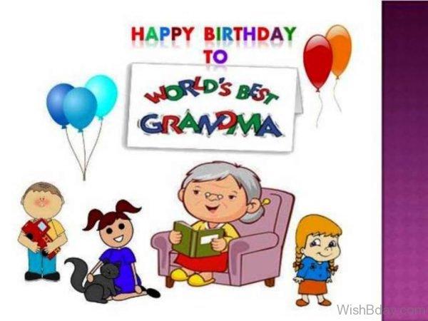 Happy Birthday To Worlds Best Grandma