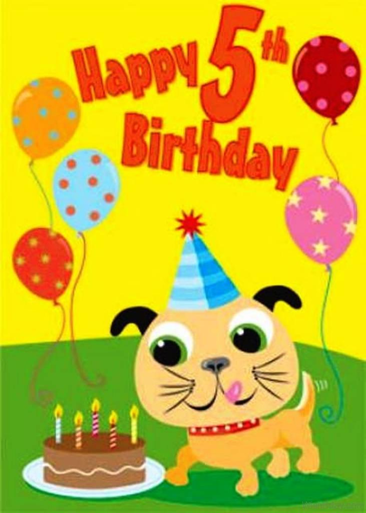 52 5th Birthday Wishes Happy Birthday Wishes 5 Year Boy