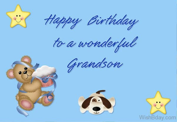 Happy Birthday To You Grandson