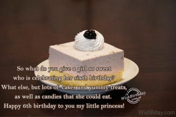 Happy Birthday To You My Little Princess