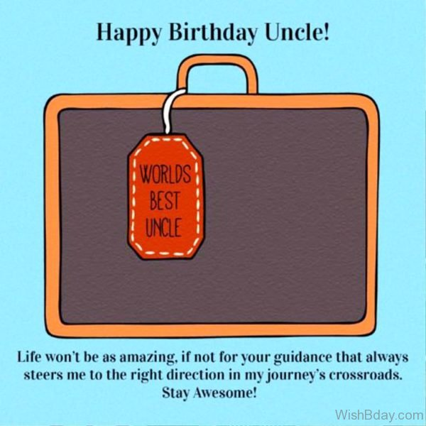 Happy Birthday Uncle World Best Uncle