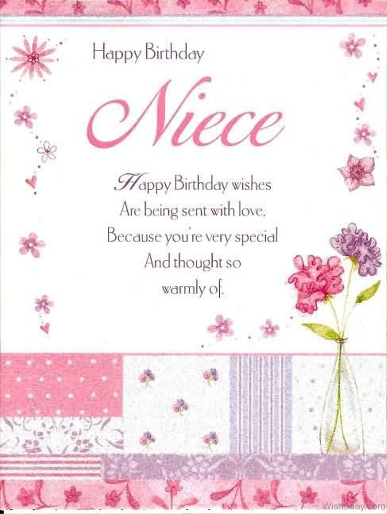 46 Birthday Wishes For Niece – Birthday Greetings Niece