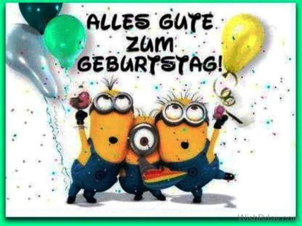 Happy Birthday Wishes In German Language