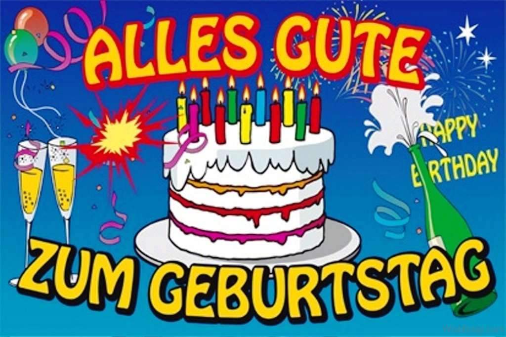 German Birthday Cake Picture
