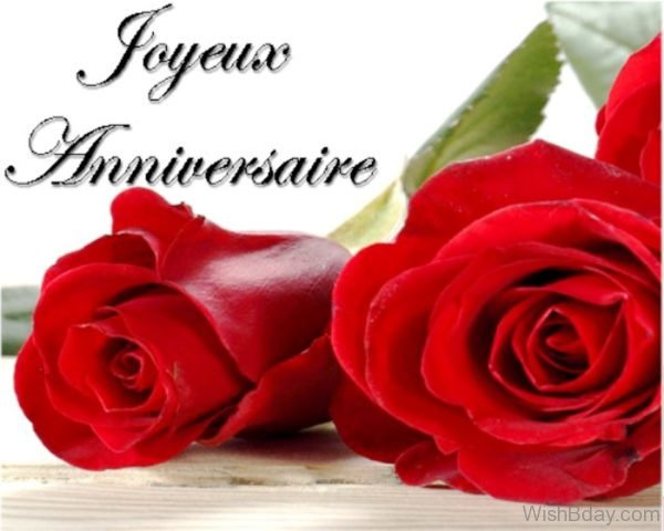 Happy Birthday Wishes With Red Roses 2
