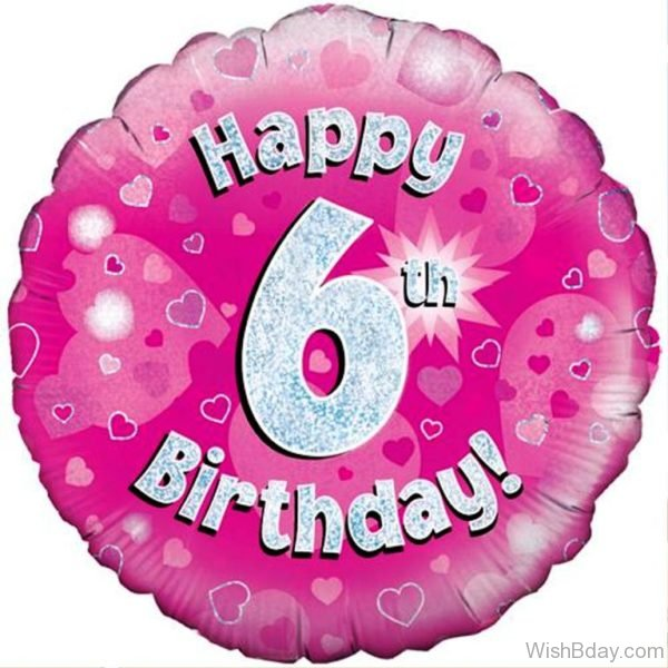 Happy Birthday With Balloon 6