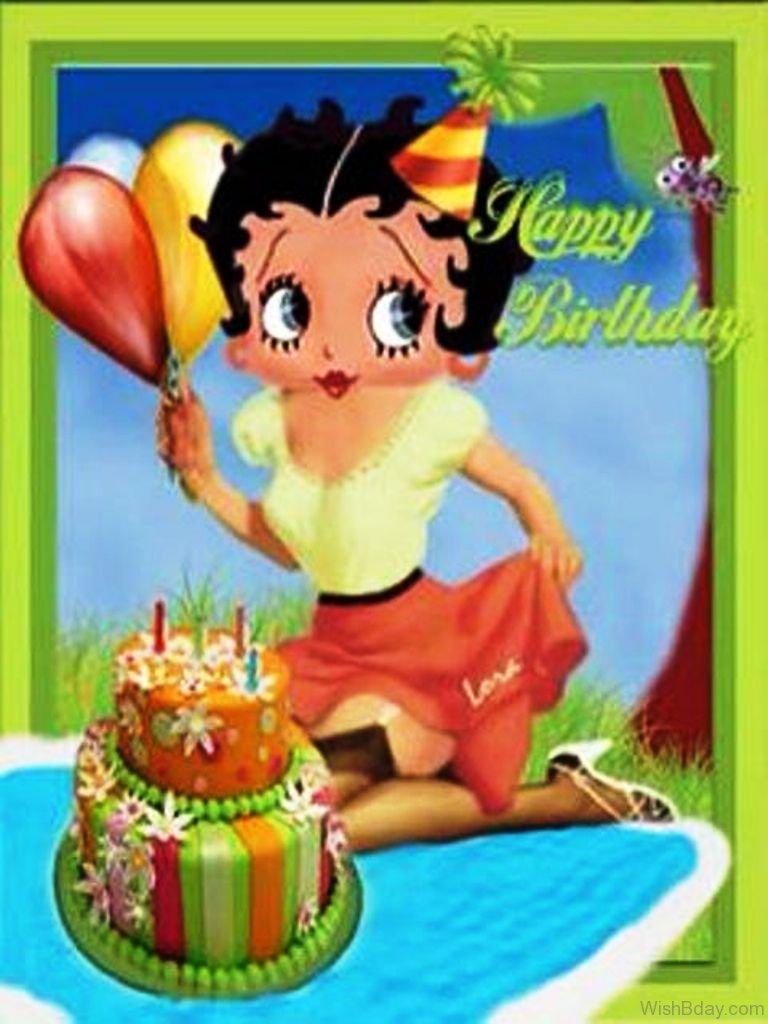 32 Birthday Wishes Betty Boop