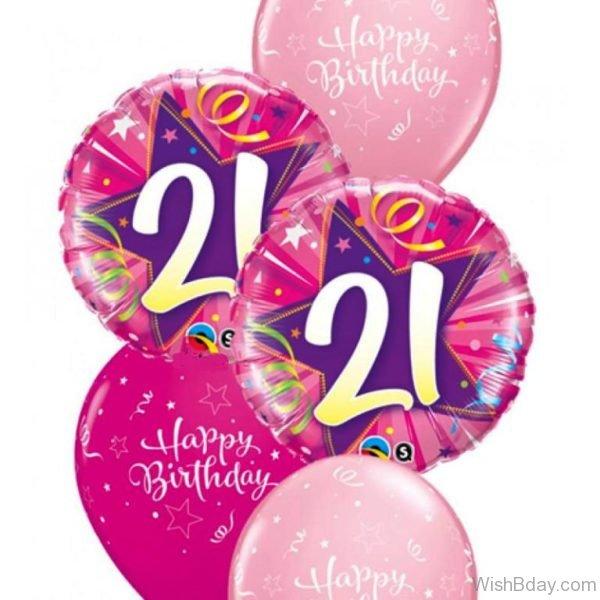 Happy Birthday With Balloons 8