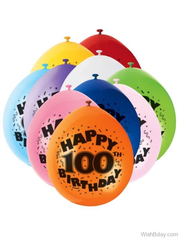 Happy Birthday With Balloons 9