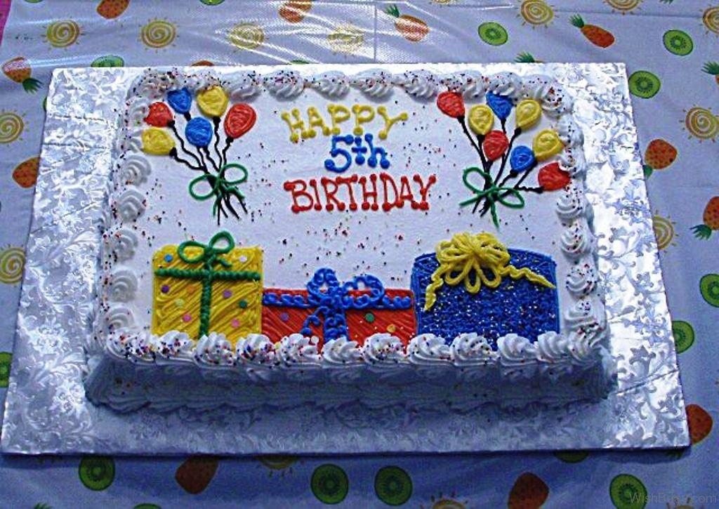 52 5th Birthday Wishes