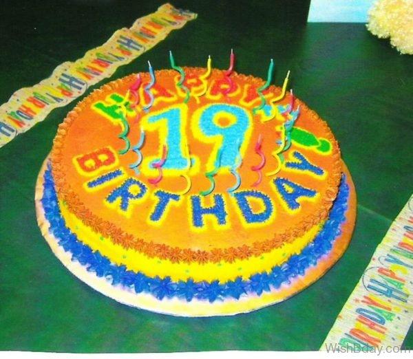 Happy Birthday With Cake 17