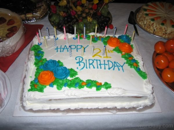 Happy Birthday With Cake 21