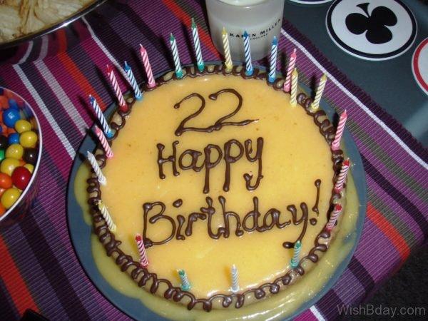 Happy Birthday With Cake Image 2