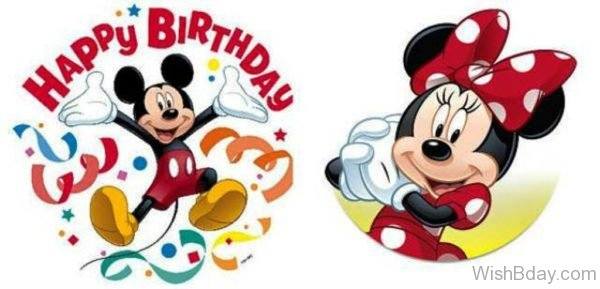 Happy Birthday With Minnie And Micky