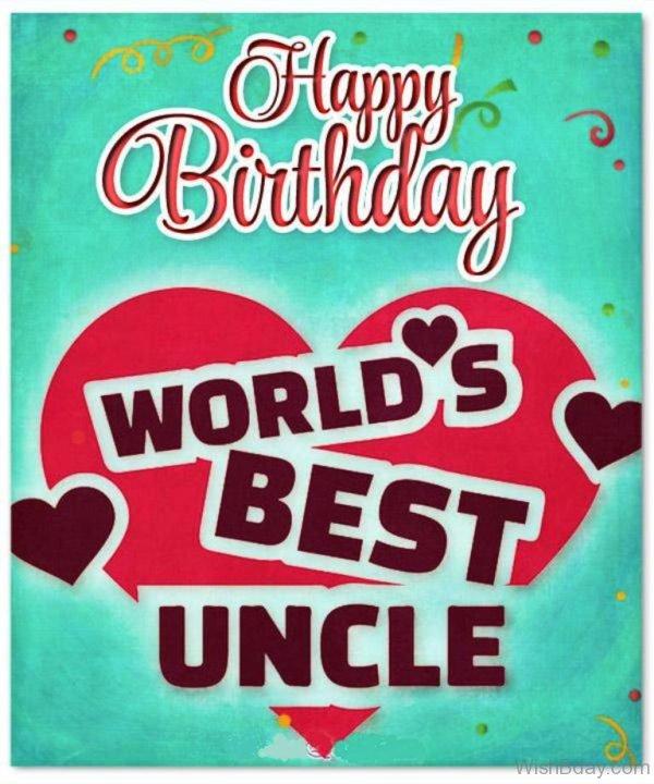 Happy Birthday Worlss Best Uncle
