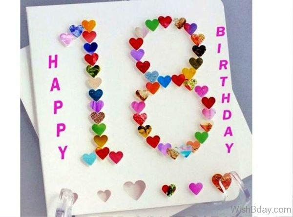 Happy Eighteen Birthday
