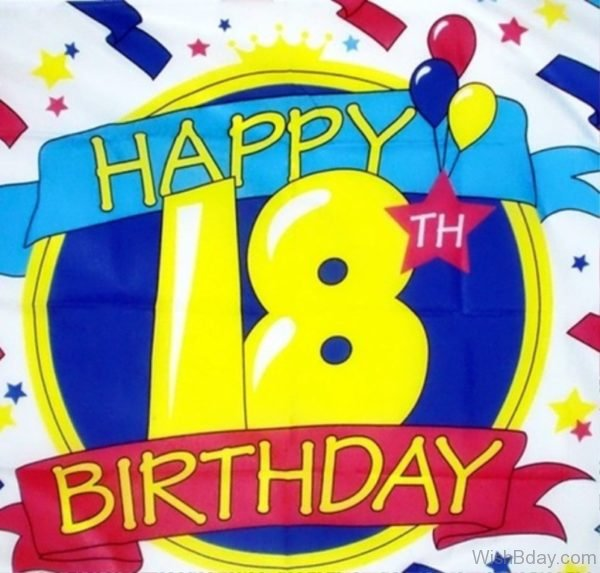 Happy Eighteenth Birthday Wishes