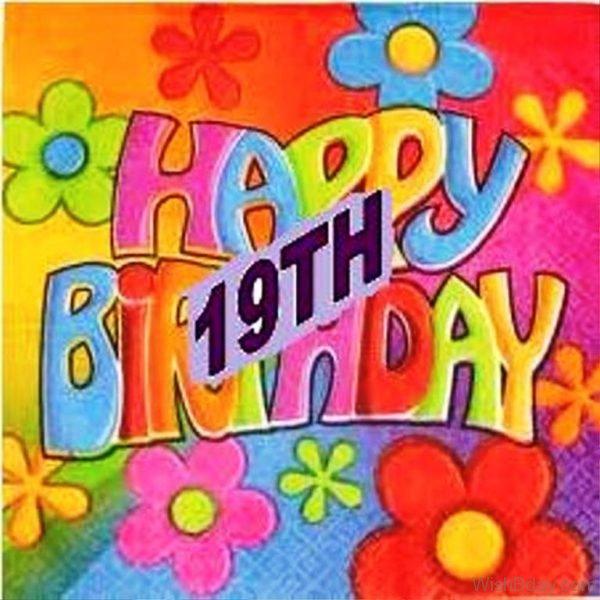 Happy Nineteenth Birthday Wishes