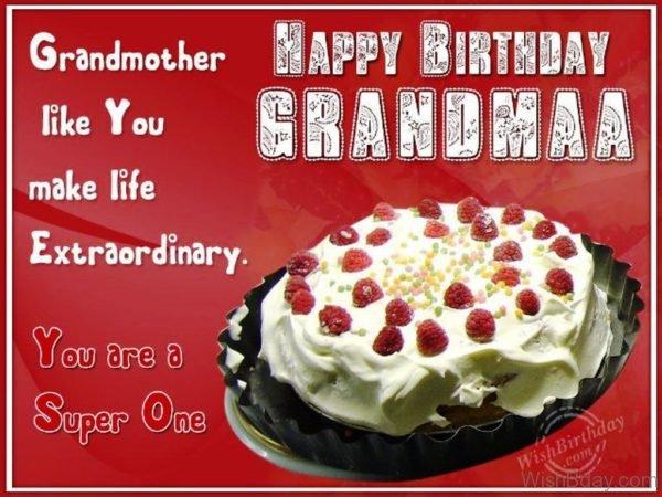 Happy Returns of The Day Dear Grandmaa