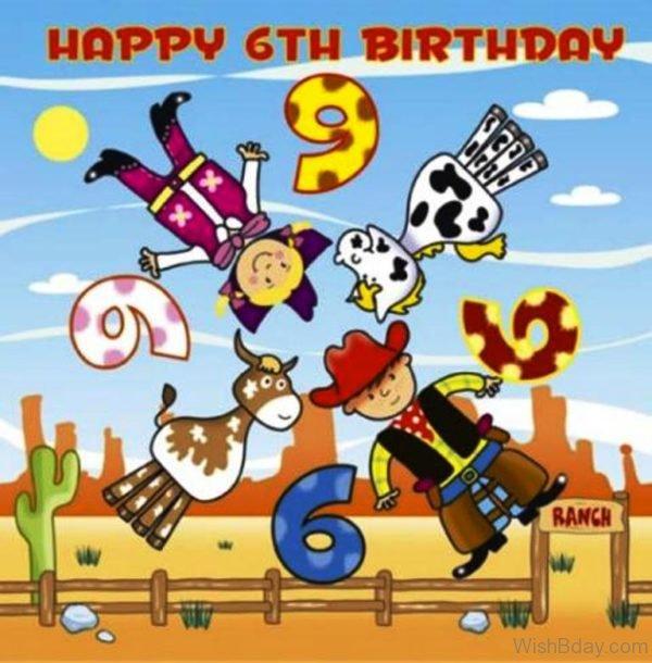 Happy Sixth Birthday To You