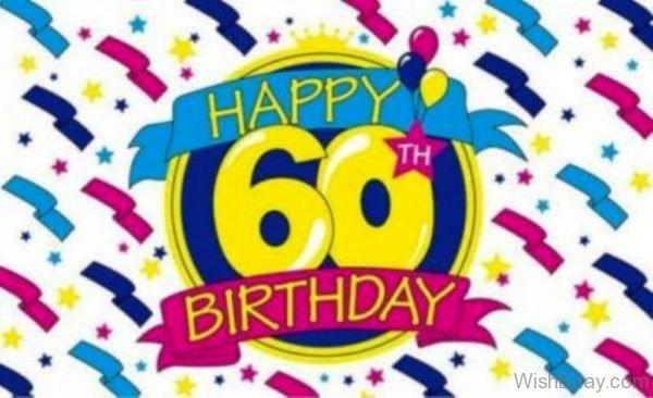 Happy Sixty Birthday