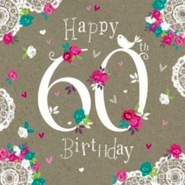 Happy Sixty Birthday To You