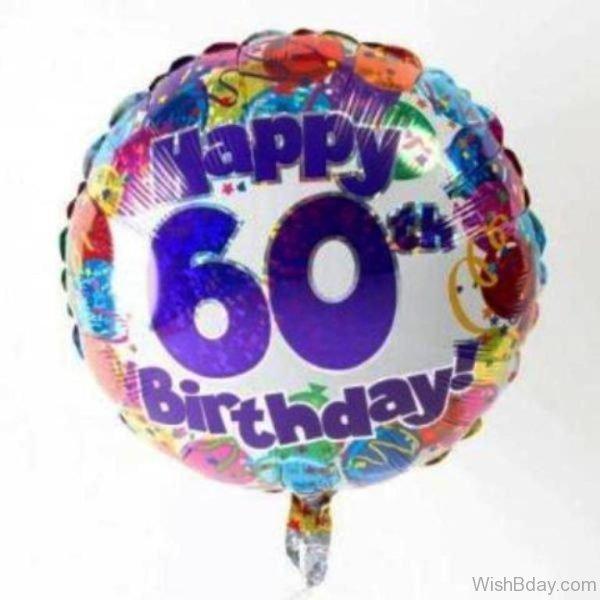 Happy Sixty Birthday Wish