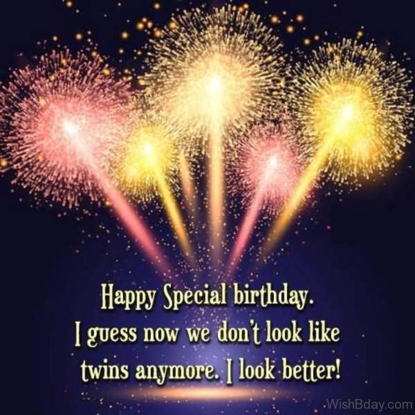 Happy Special Birthday