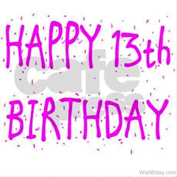 Happy Thirteen Birthday 1