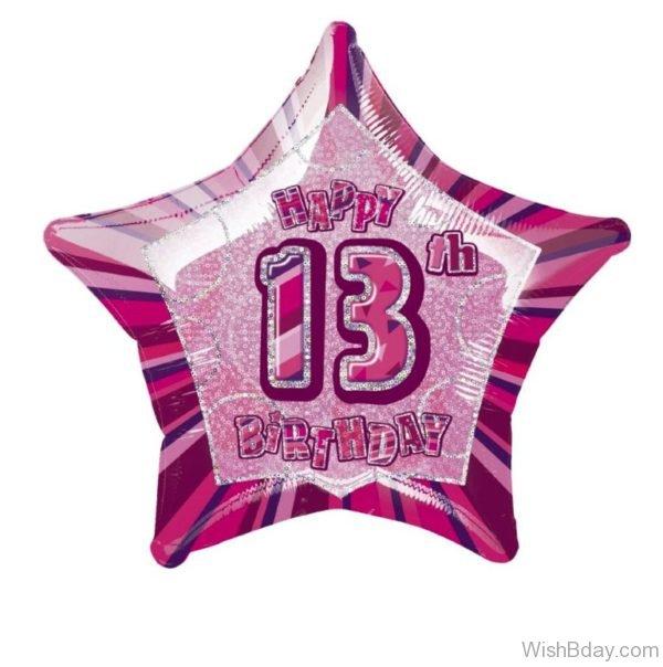 Happy Thirteen Birthday To You