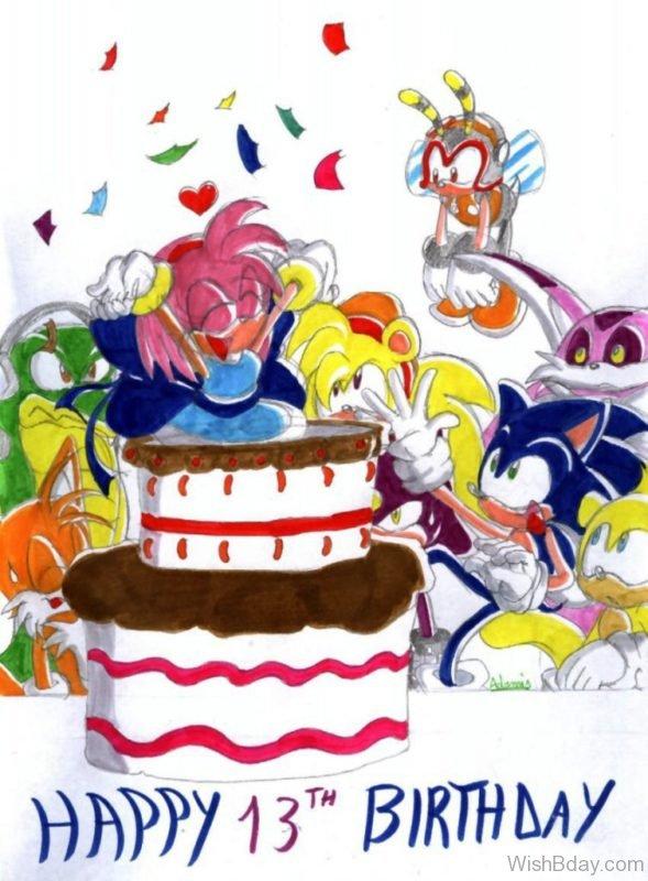 Happy Thirteenth Birthday