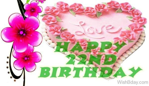 Happy Twenty Second Birthday Wishes