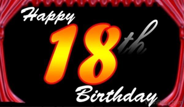 HappyEighteenth Birthday To You